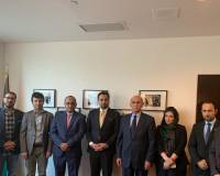 His Excellency Idrees Zaman Deputy Foreign Minister for Political Affairs, visited the Afghanistan's Consulate General in New York USA