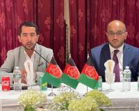 The Afghanistan Consulate General in New York hosted a reception for the Minister of Labor and Social Affairs of Afghanistan, Mr. Bashir Ahmad Tahyanj, and his accompanying delegation