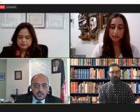 On Thursday, September 17th, Mr. Zelgai Sajad the Consul General of the Islamic Republic of Afghanistan in New York, joined a Zoom Virtual Town Hall for Afghans in NYC