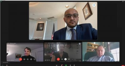 The Consulate General of the Islamic Republic of Afghanistan in New York hosted an online discussion about holding an exhibition of Afghan products