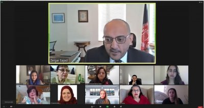 The Consulate General hosted an online discussion